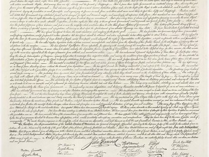 The Declaration and the Promise of a Democratic Culture