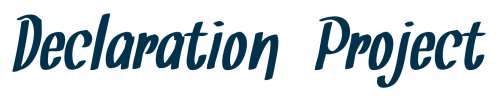 Declaration Project
