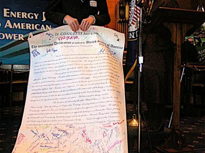 The Unanimous Declaration of Youth of the United States of America of Independence from Fossil Fuels (July 4, 2013)