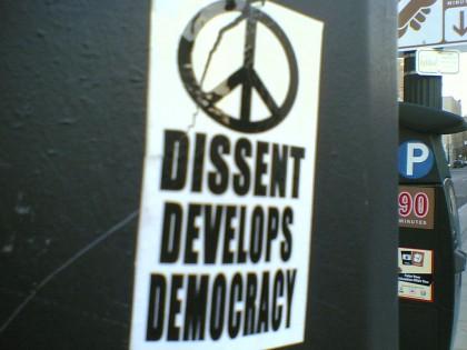 Declaring My Dissent