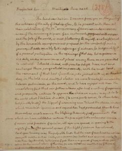 Jefferson's Declaration about Our Declaration